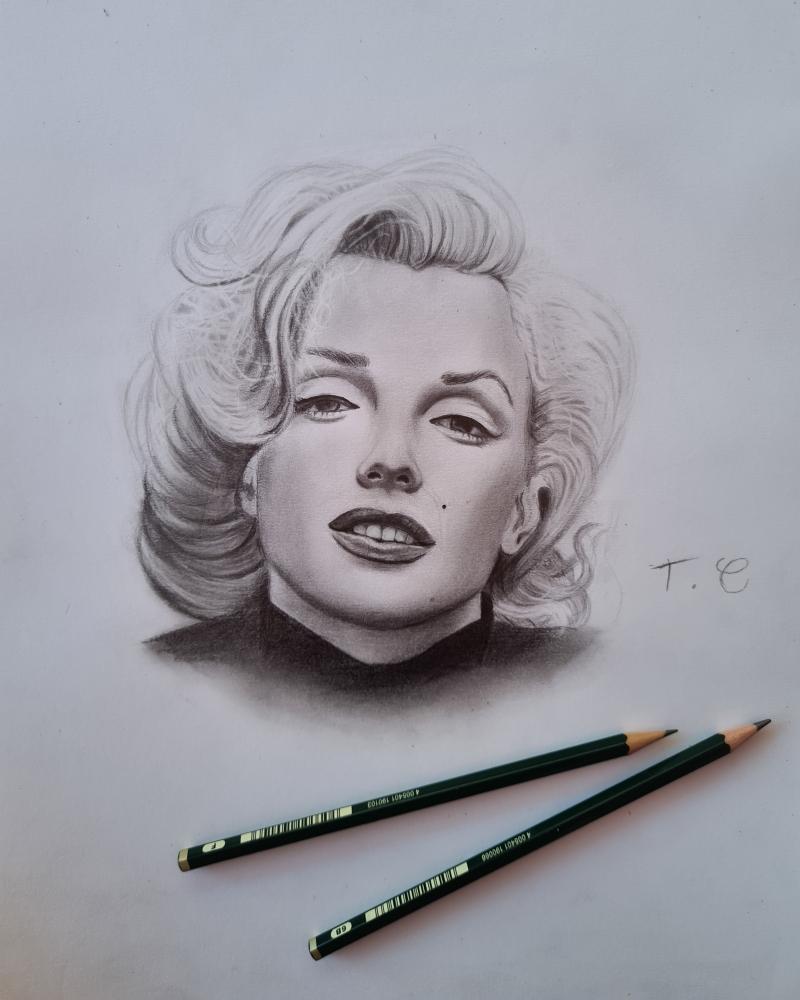 Marilyn Monroe par thomascdraw